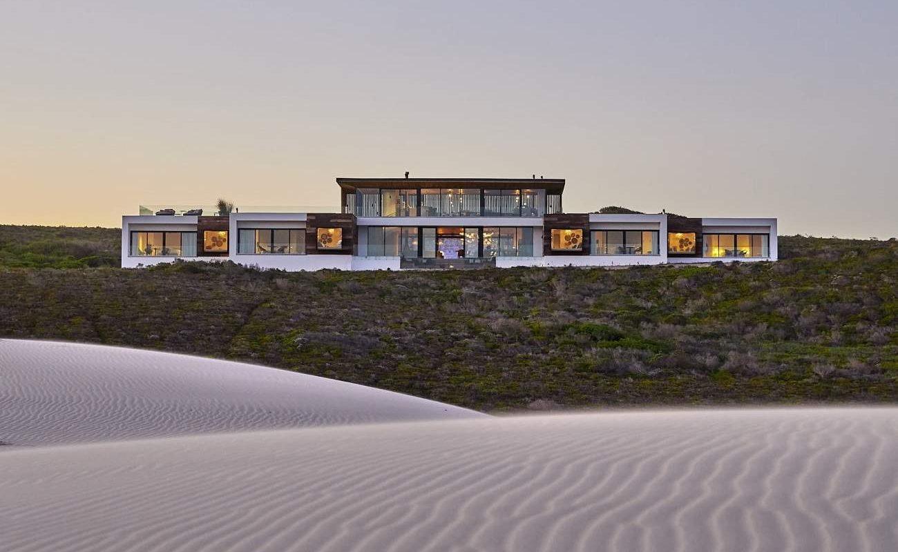 Blick auf die Morukuru Beach Lodge