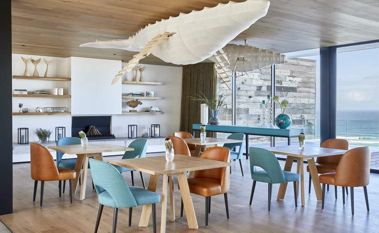 Restaurant der Morukuru Beach Lodge