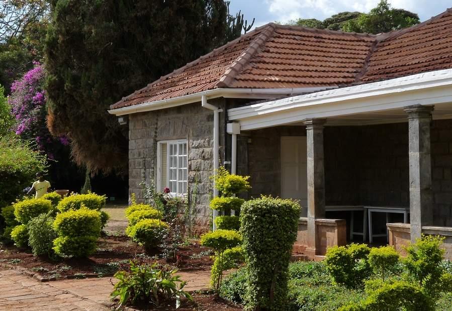 Veranda Karen Blixen Haus Nairobi