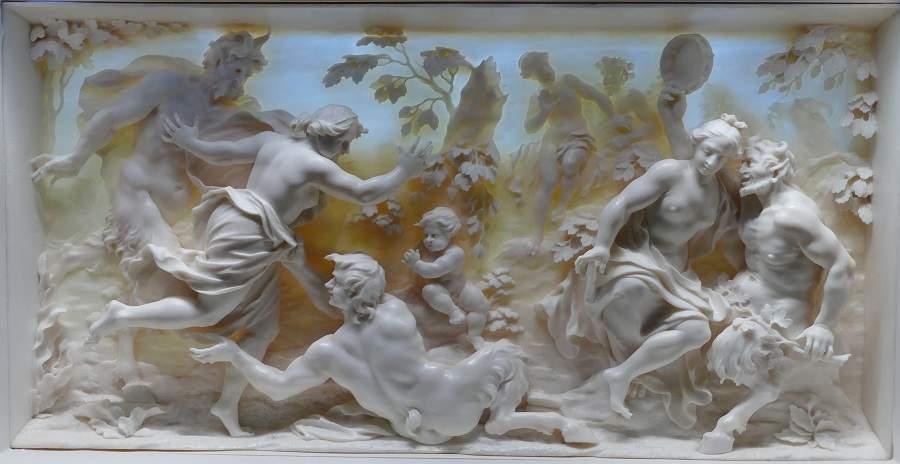 Relief aus Elfenbein im Bayerischen Nationalmuseum