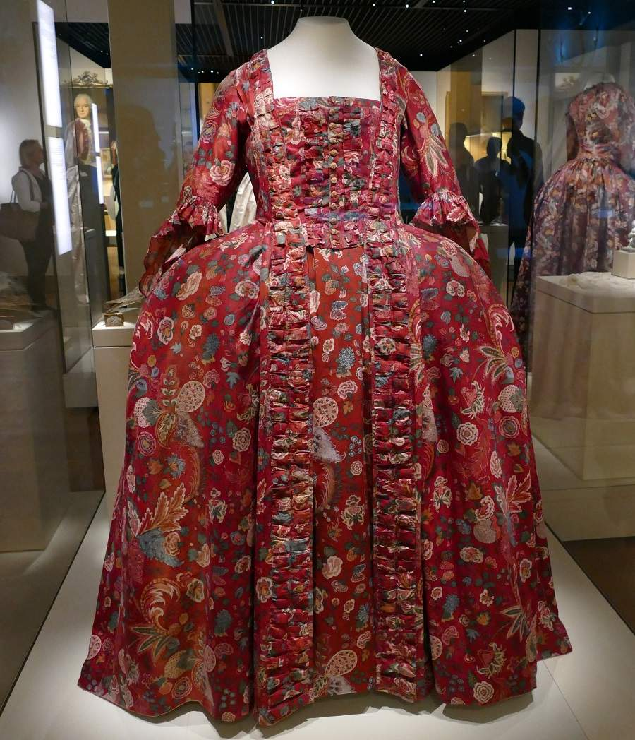 Robe a la francaise Bayerisches Nationalmuseum