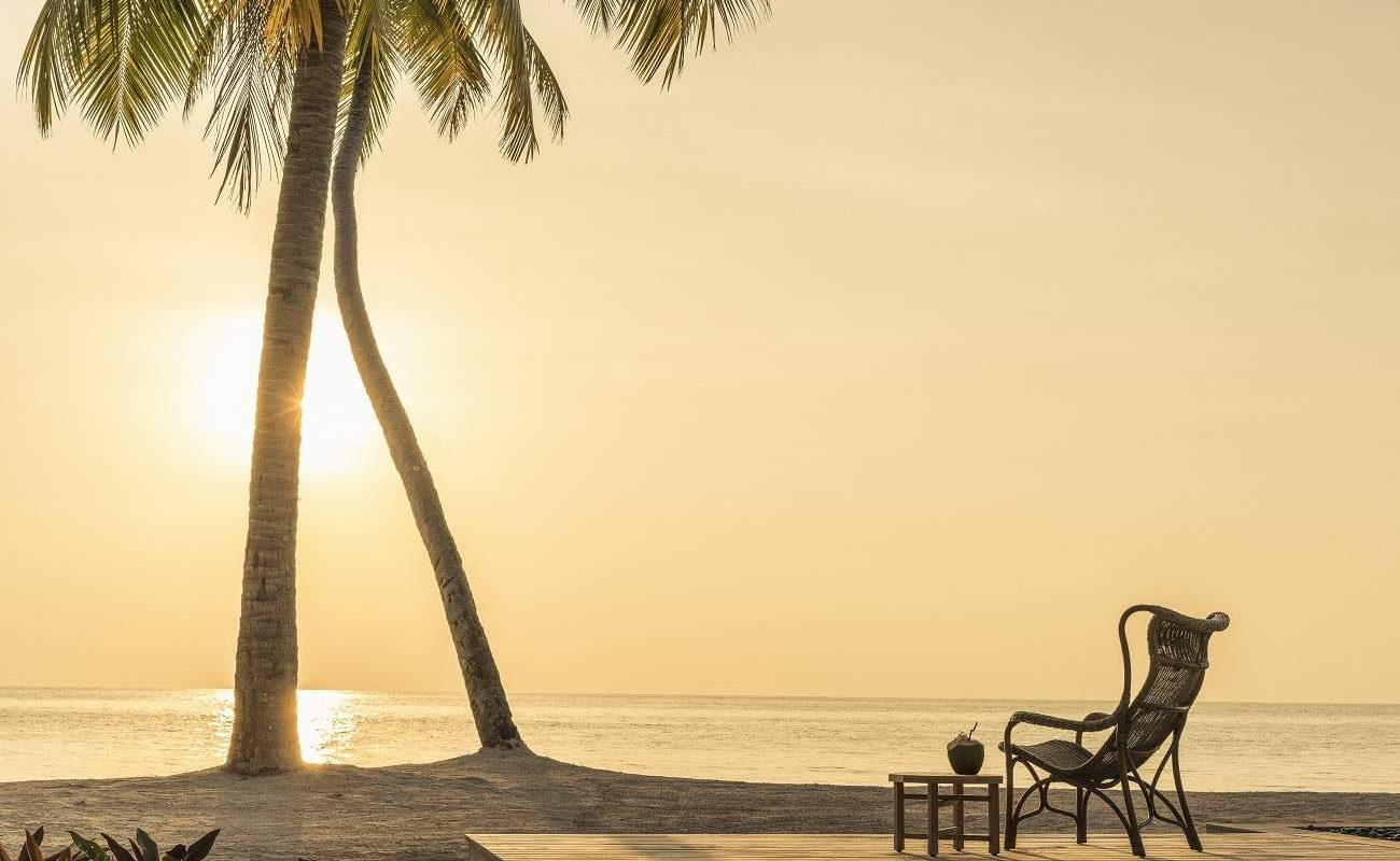 Sundowner auf Desroches, Seychellen