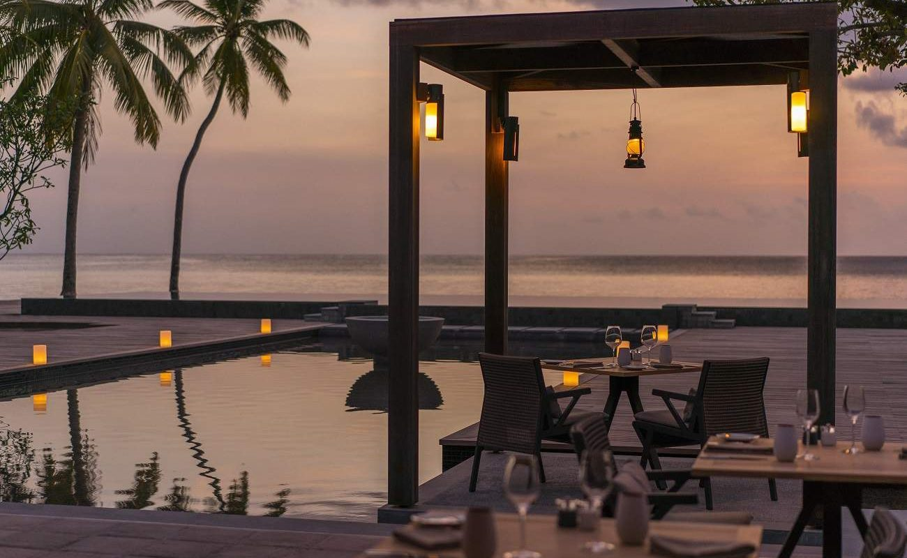 Restaurant Claudine, Desroches Island