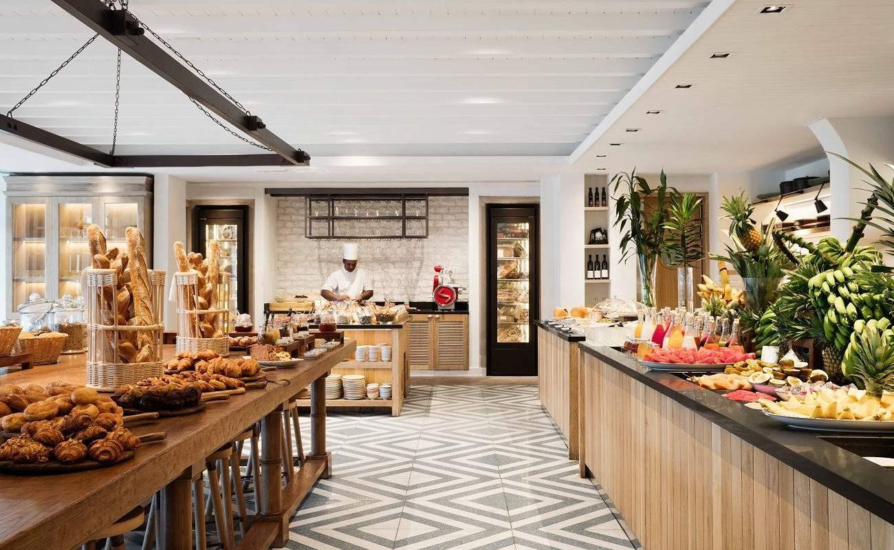 Frühstücksbuffet im One & Only auf Mauriitus