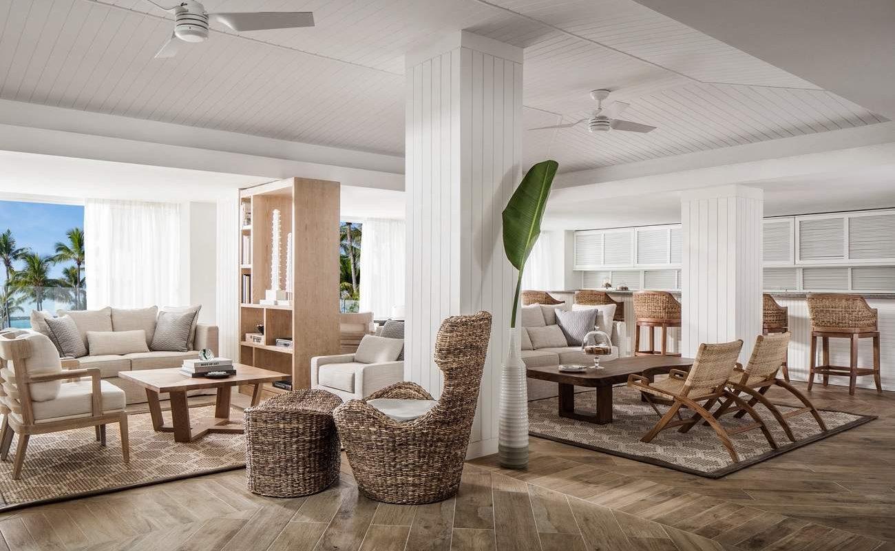 Die Carré Lounge im Luxushotel St. Geran
