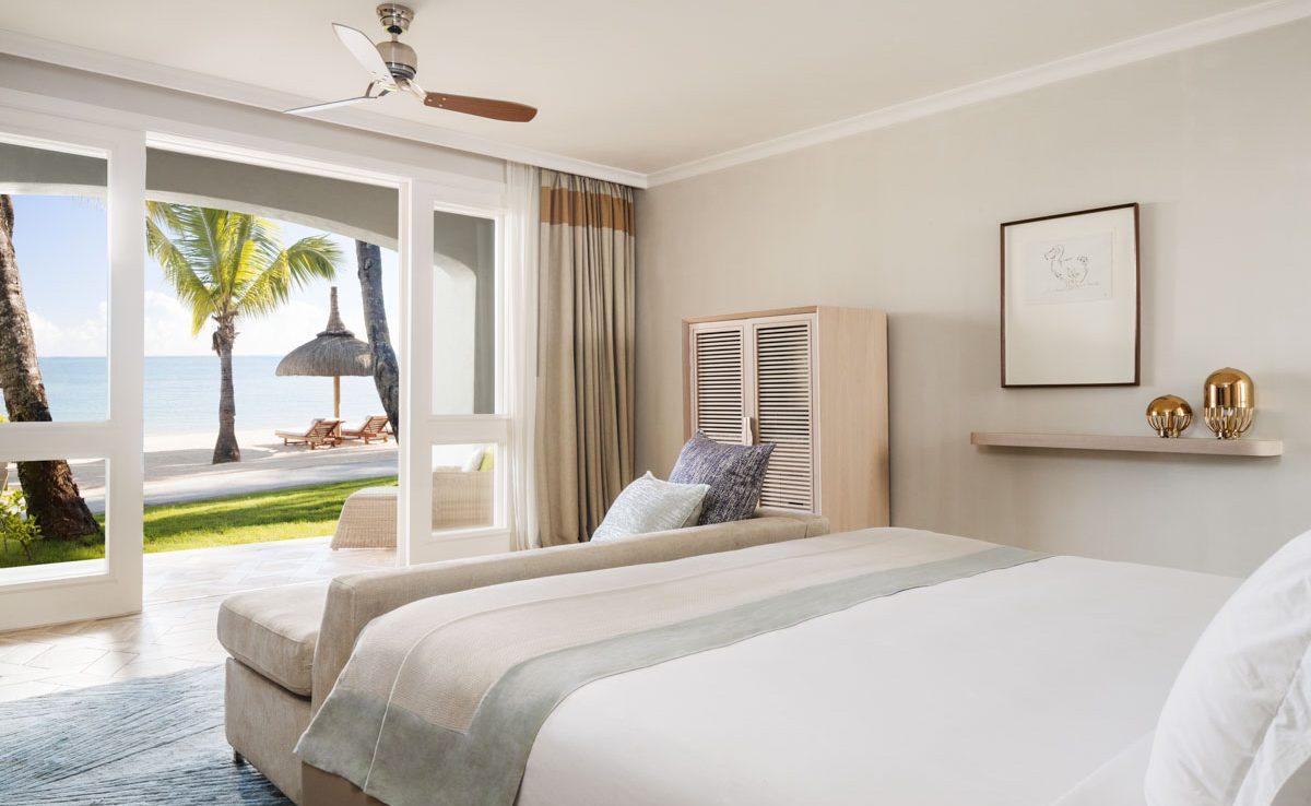 Beachfront Zimmer mit Meerblick im St. Geran