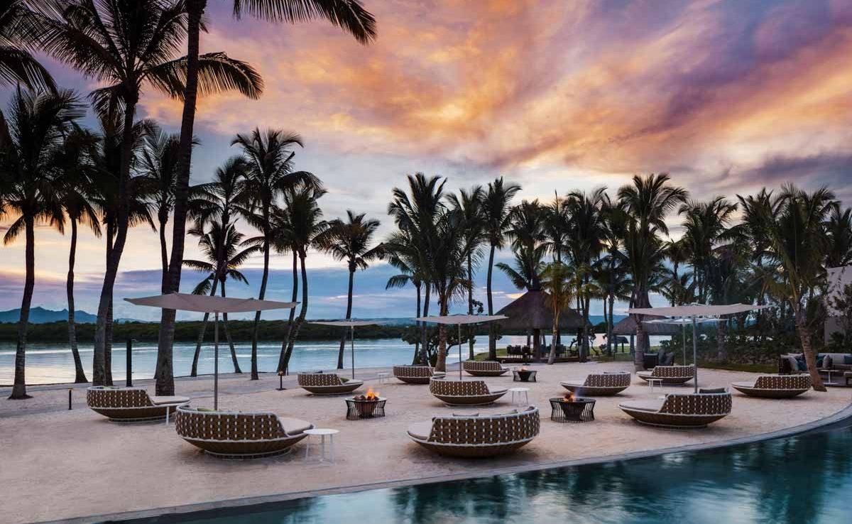 La Pointe Bar im Luxushotel auf Mauritius