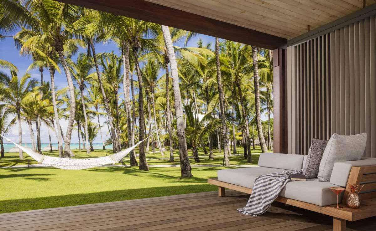 Terrasse einer Ocean Suite