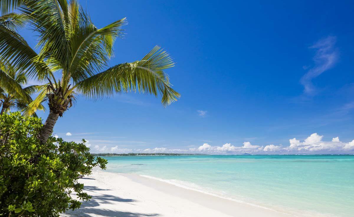 Strand des Le Saint Géran an der Ostküste von Mauritius