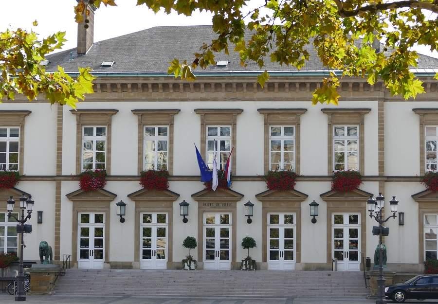 Hotel de Ville Luxemburg