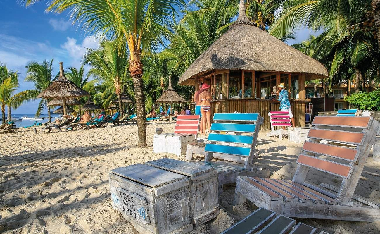 Beach Bar des Beachcomber Victoria