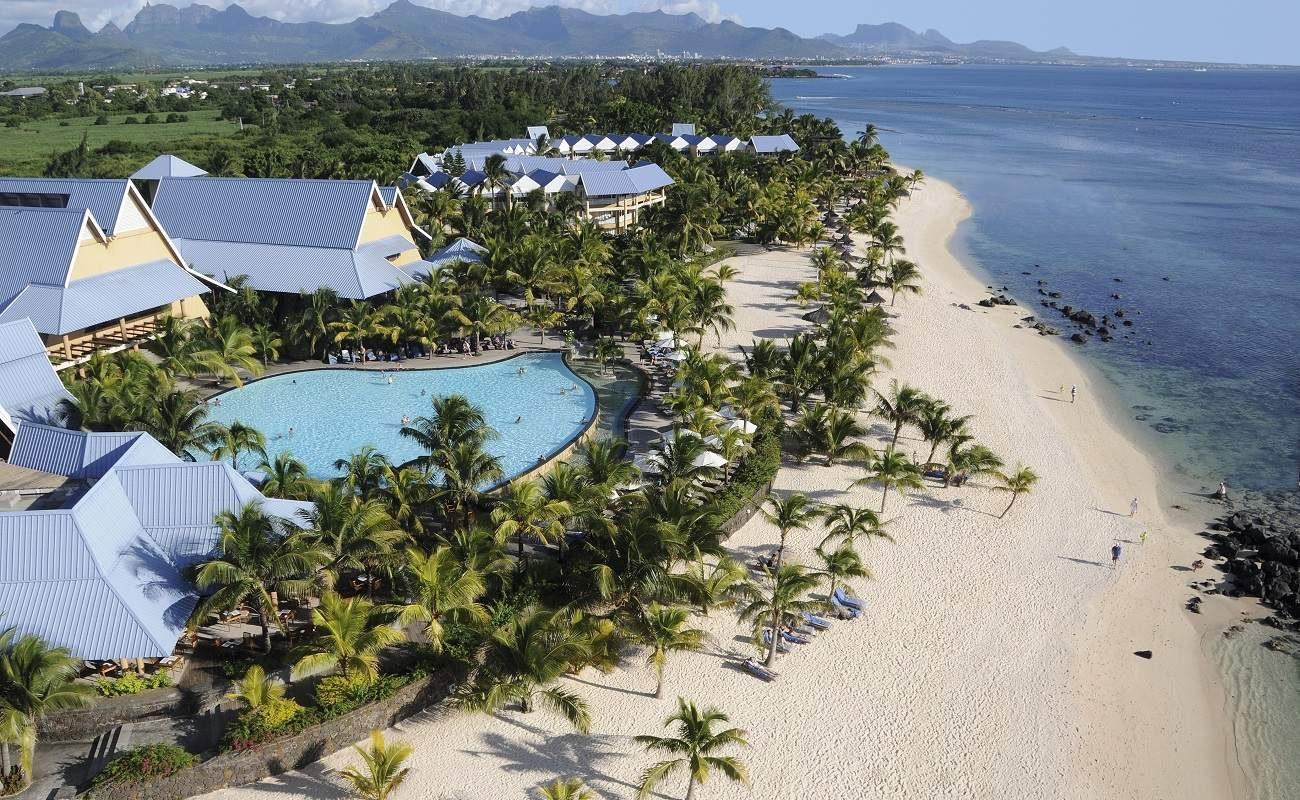 Luftaufnahme des Victoria Beachcomber Resort & Spa