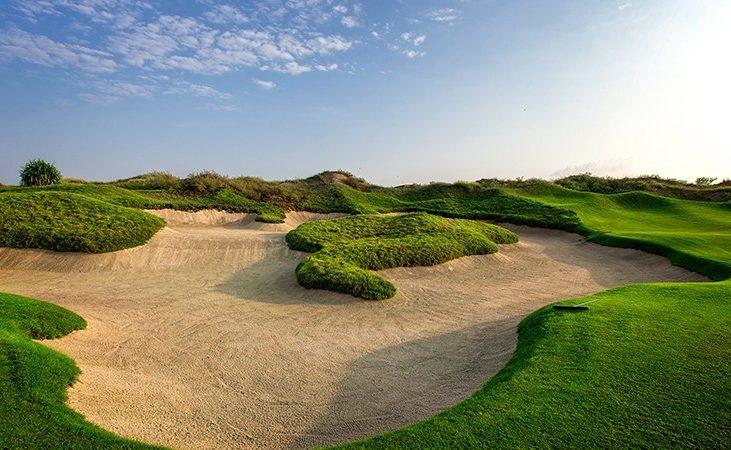 Einer der Golfplätze im Oman