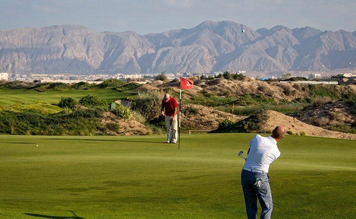 Golfpspielen im Oman