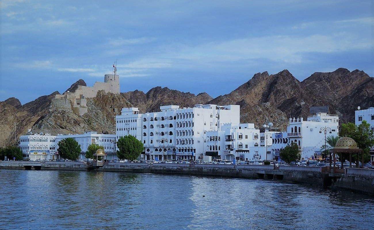Die Corniche von Muskat