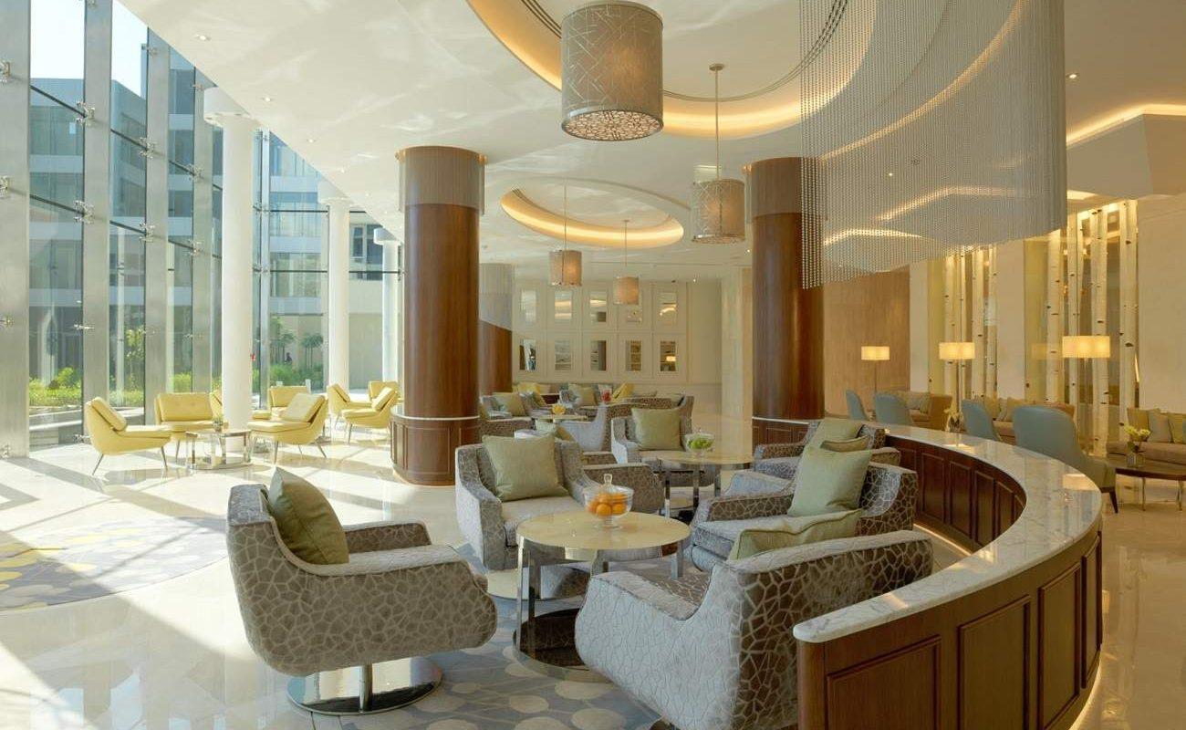 Amwaj Lounge im Luxushotel