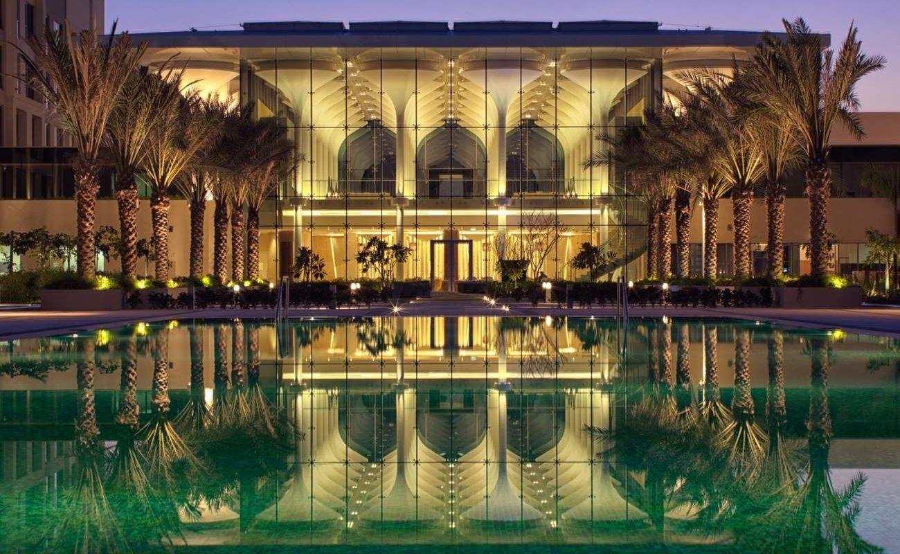 Kempinski Hotel Muscat nachts