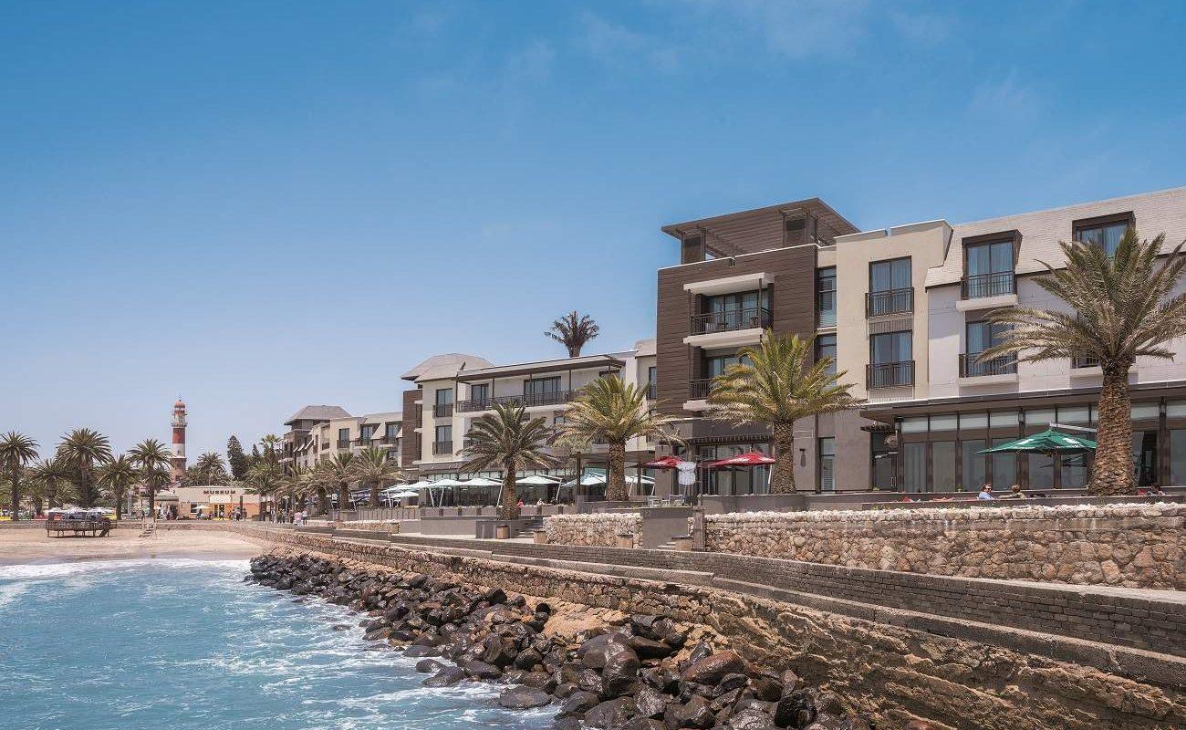 Das moderne Strand Hotel in Swakopmund