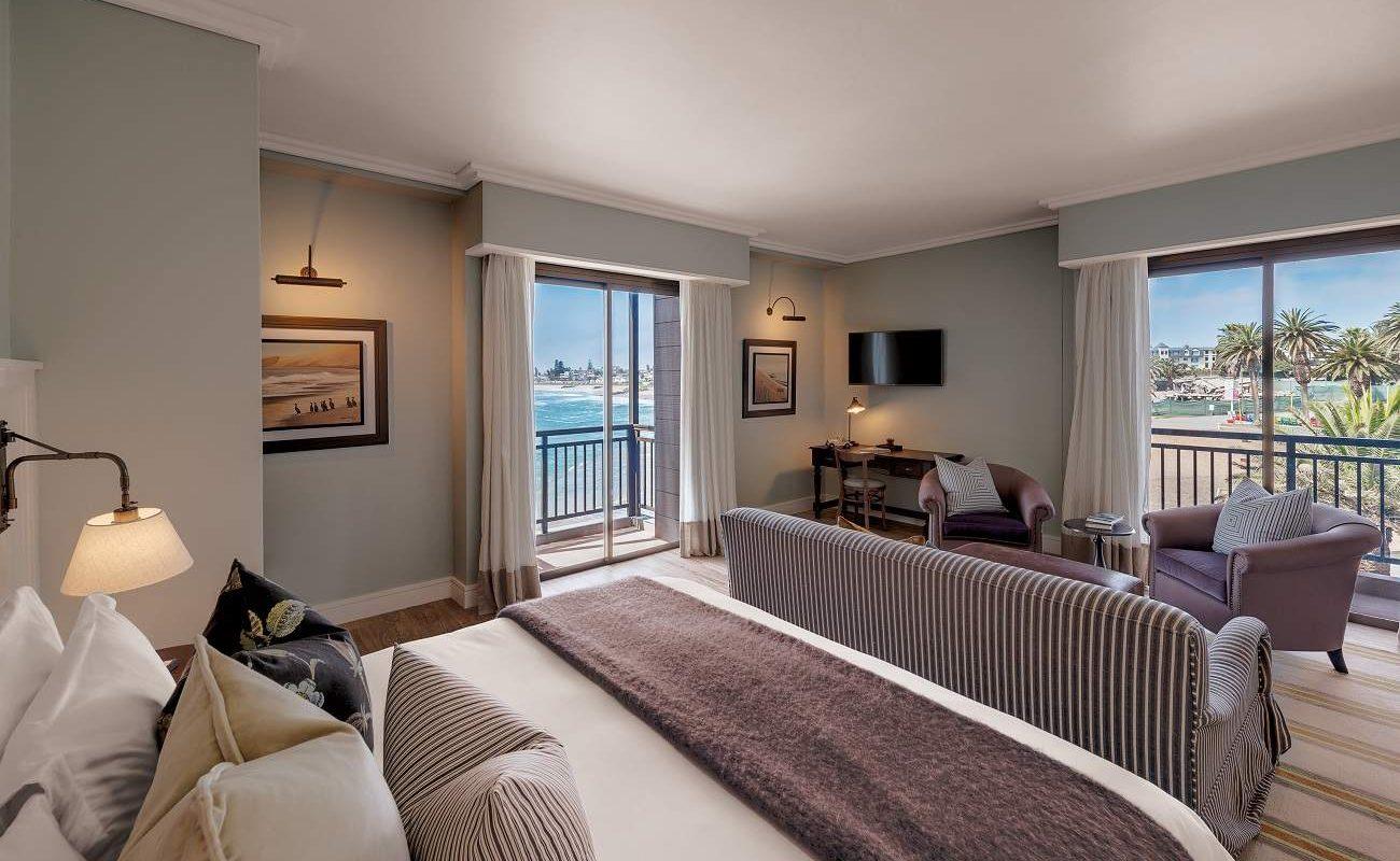 Junior Suite im Strand Hotel