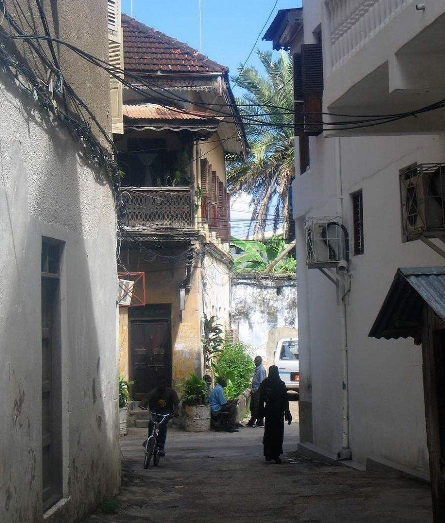 Swahilische Tür in Stone Town