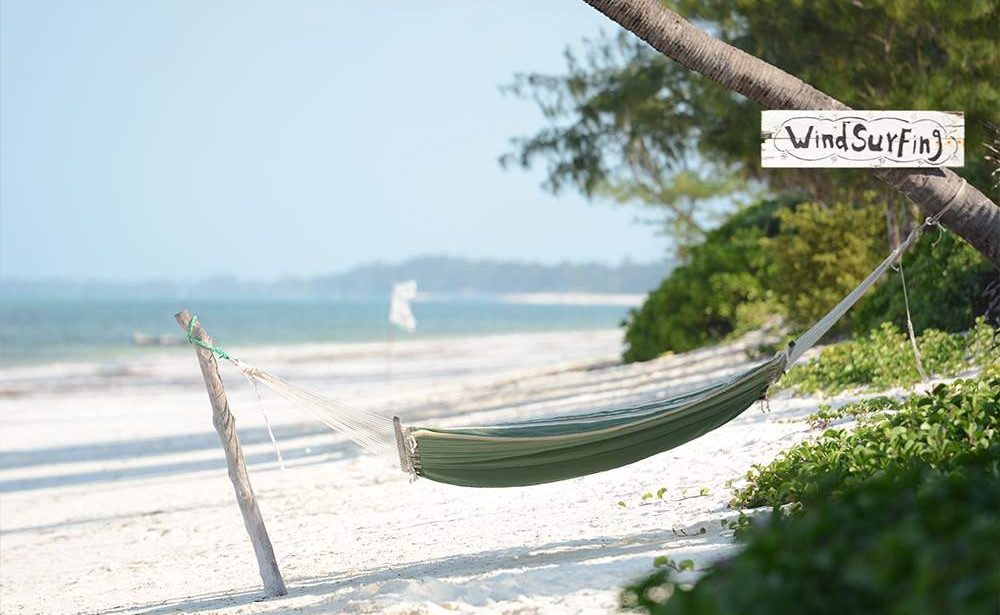 Entspannung am Strand von Bwejuu