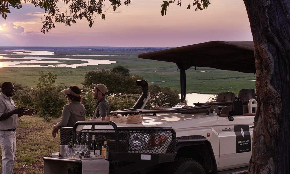 Buchen Sie Sanctuary Chobe Chilwero mit Botswana Spezialist Genuss Touren