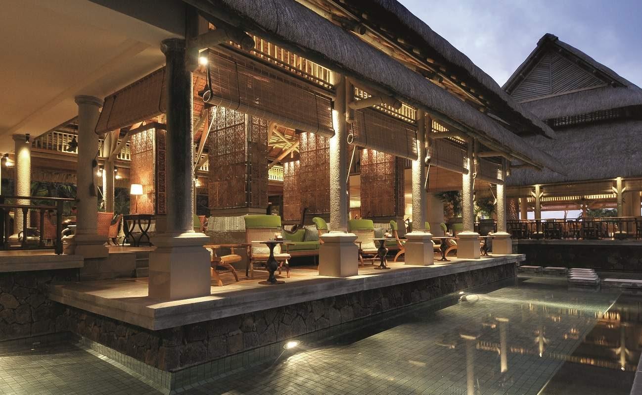 Lotus Lounge im Constance Luxushotel auf Mauritius