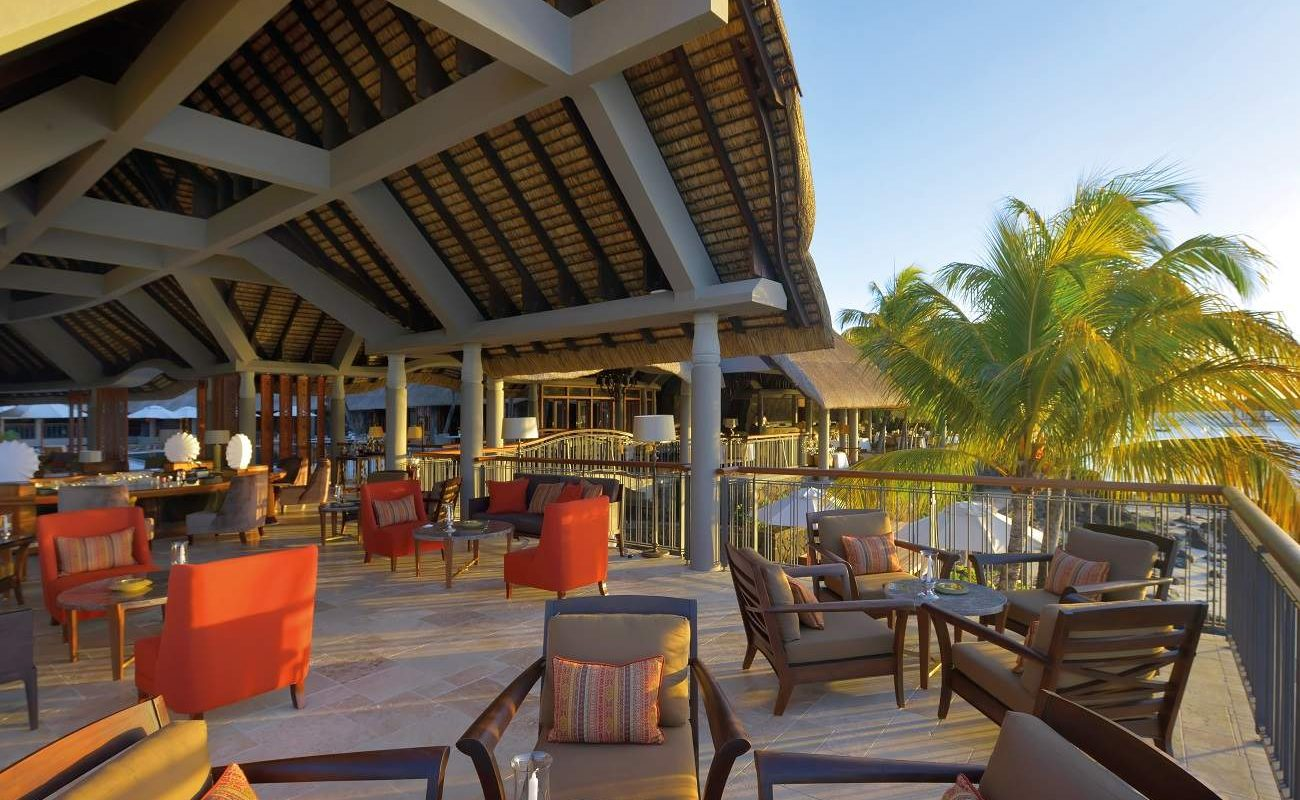 Terrasse der Bar im Royal Palm