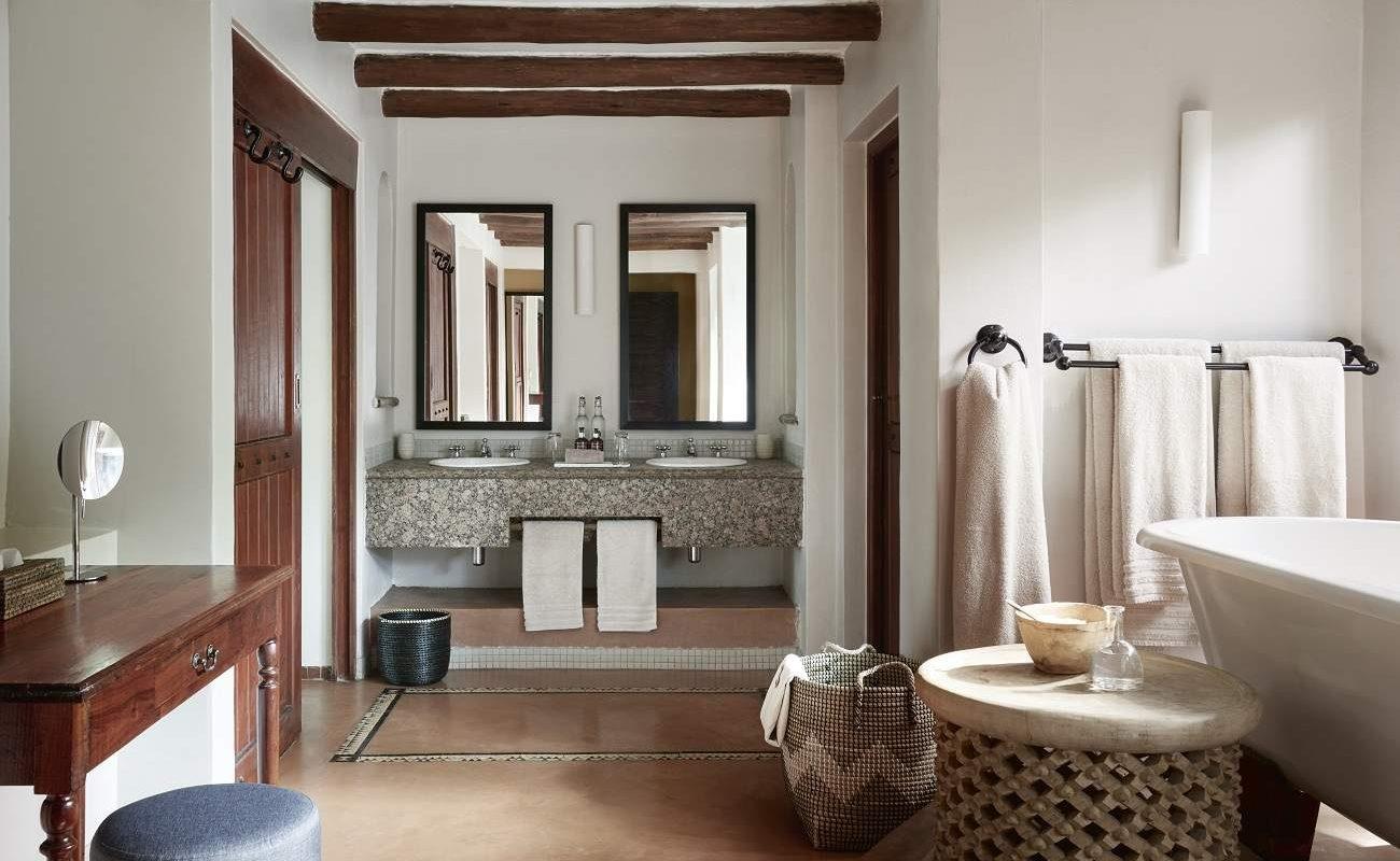 Die luxuriösen Badezimmer der Lodge von Sanctuary Retreats
