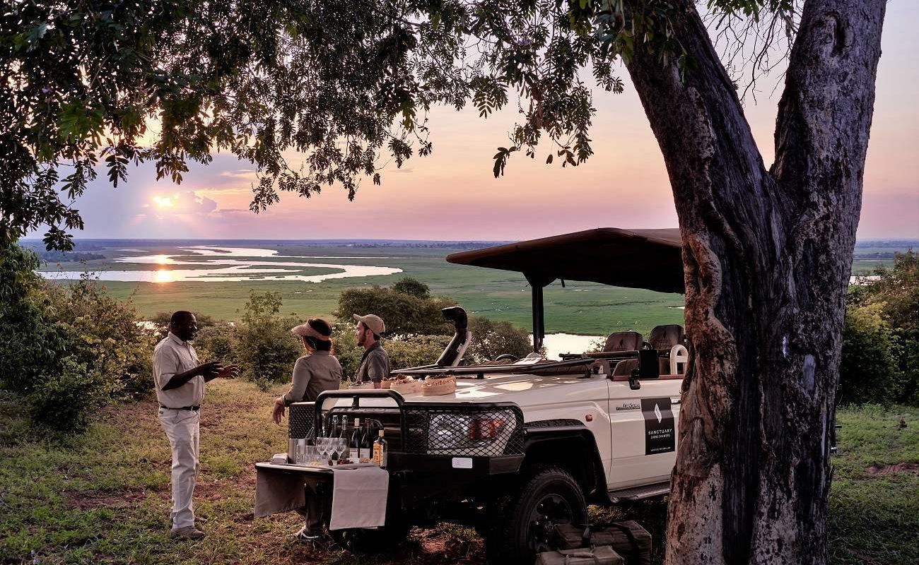 Sundowner á la Chobe Chilwero