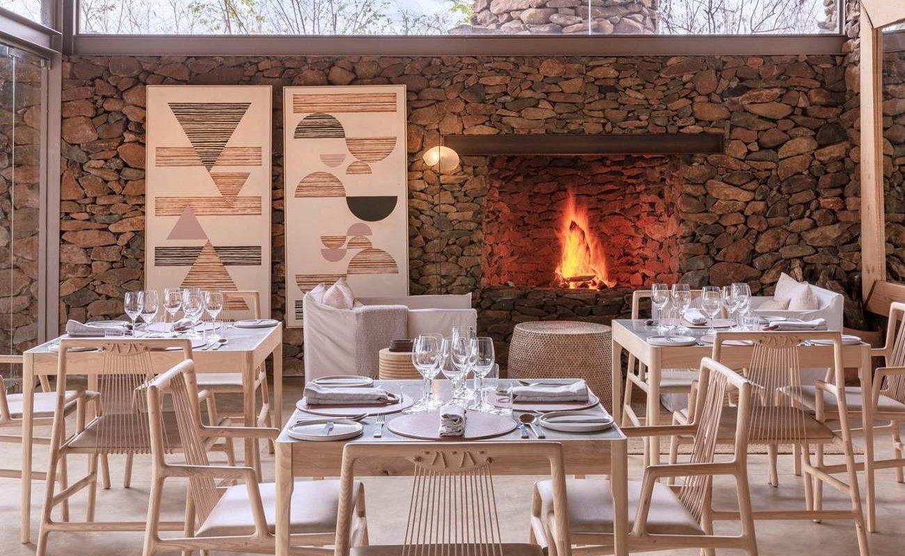 Restaurant von Singita Grumeti