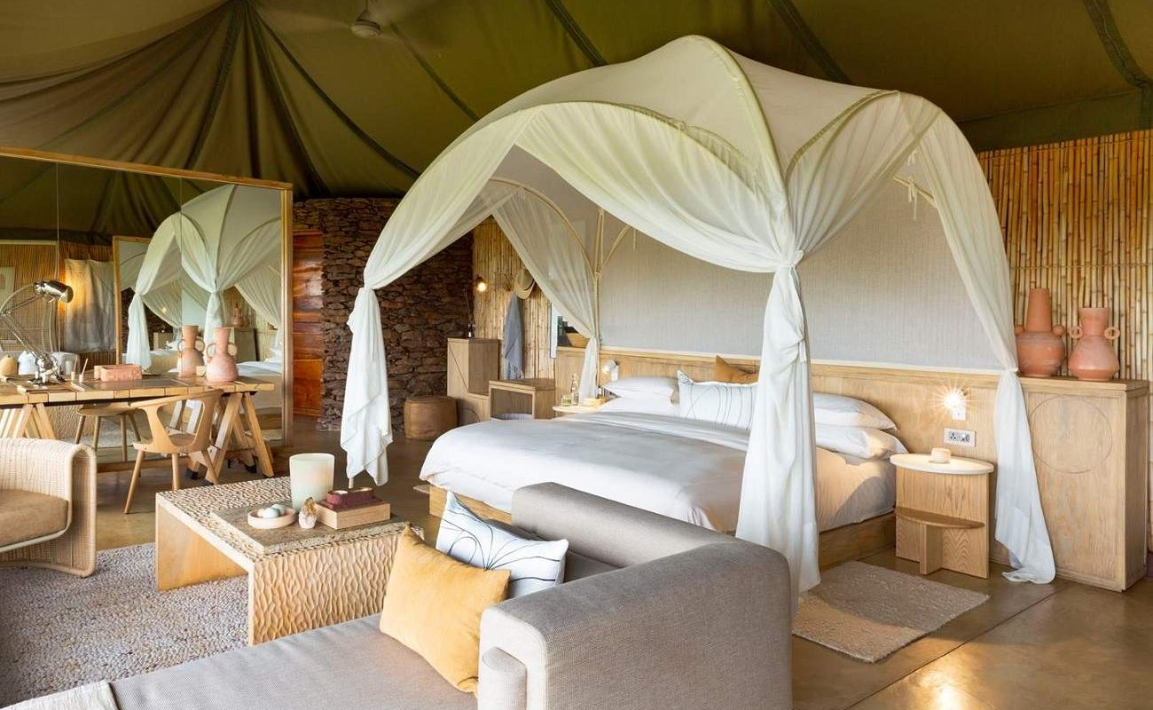 Luxussuite der Singita Lodge