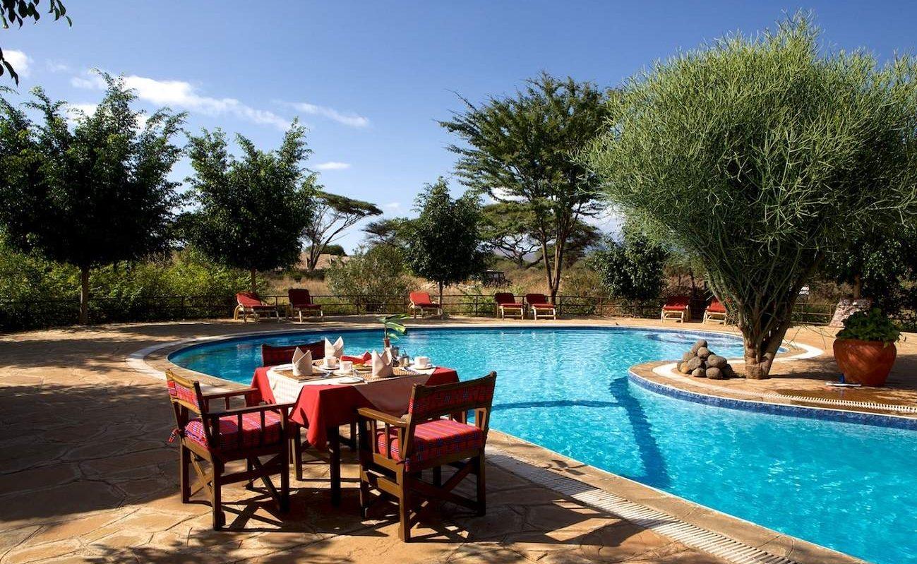 Pool Kibo Safari Camp