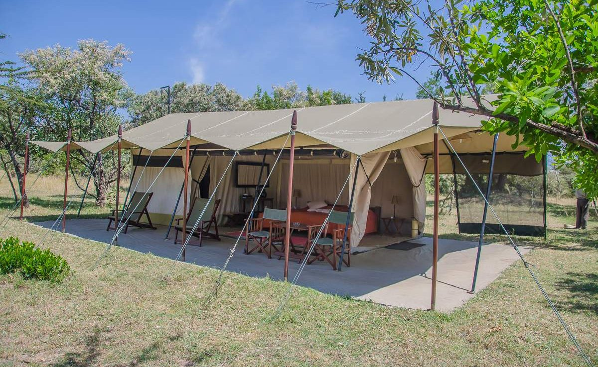 Luxury Tent in Mara Siria