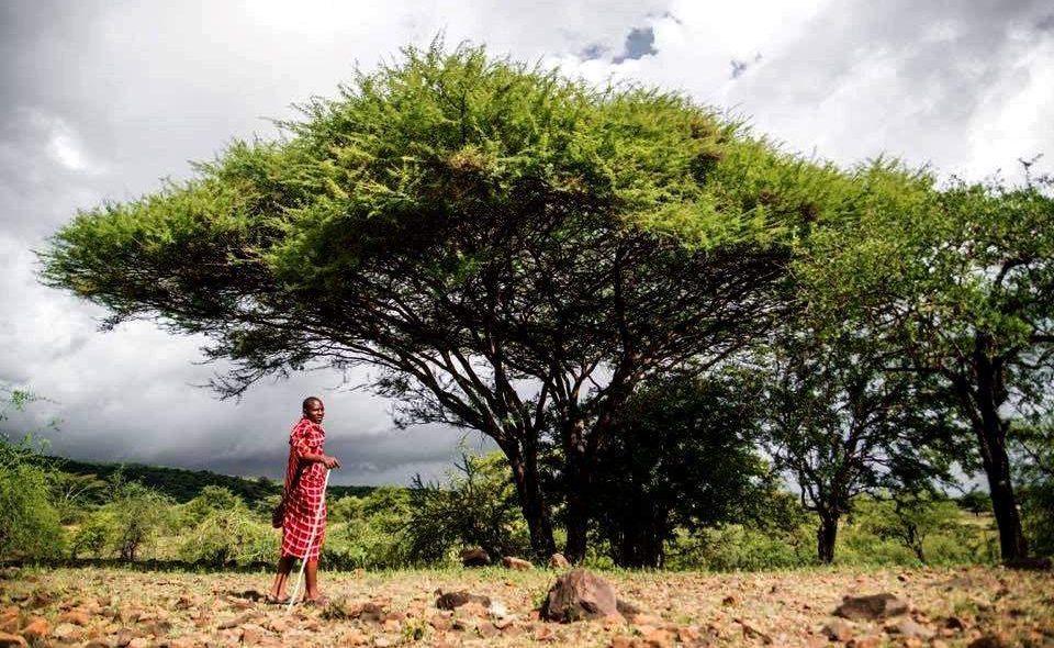 Masaai im Lake Manyara