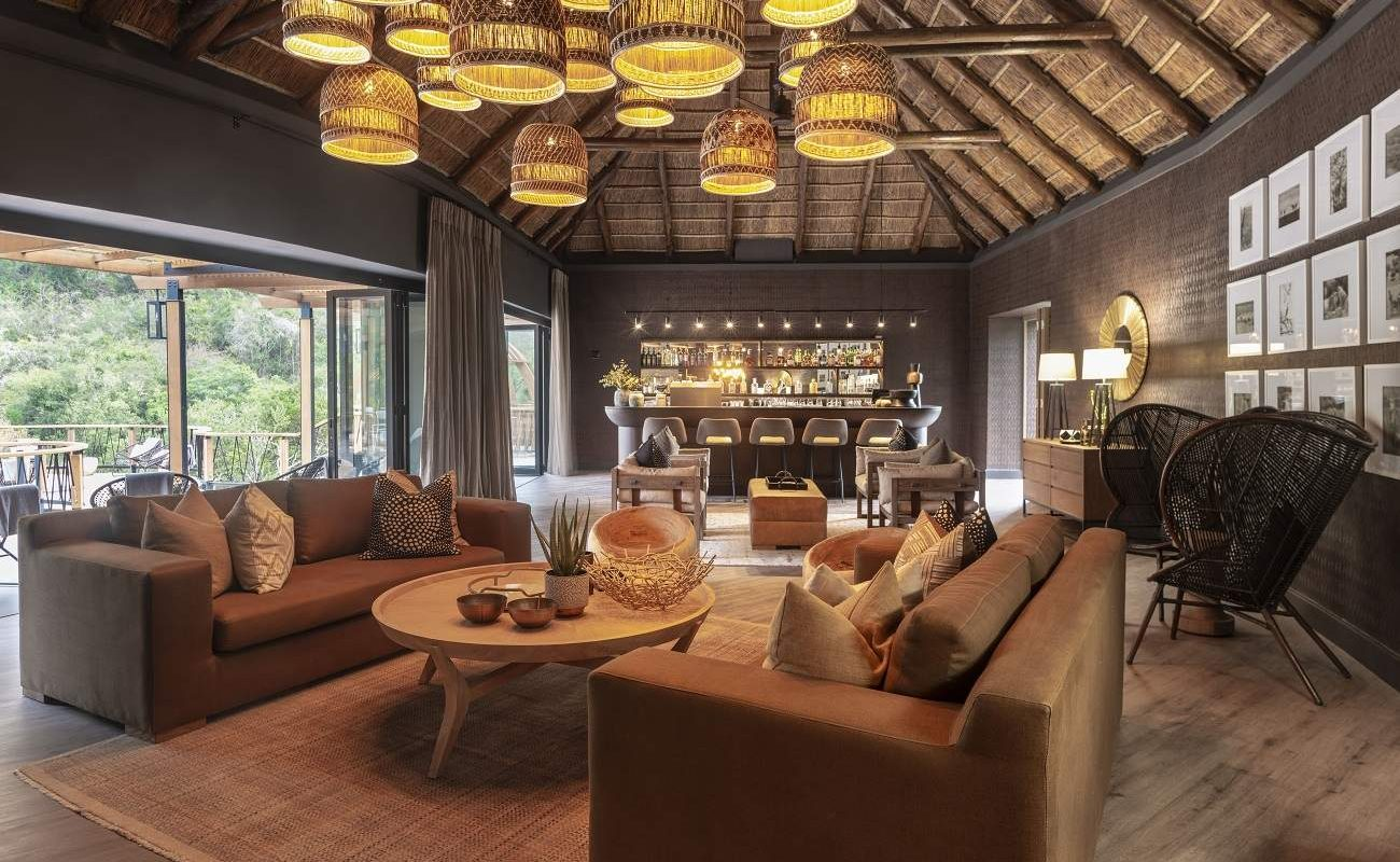 Lounge in Eagles Crag, Shamwari