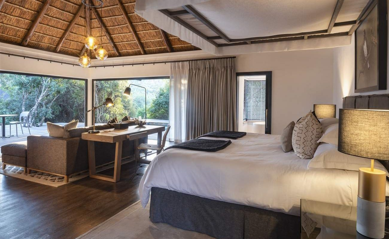 Suite in Eagles Crag des Shamwari Game Reserves