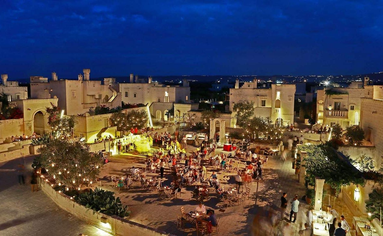 Piazza des Borgo Egnazia