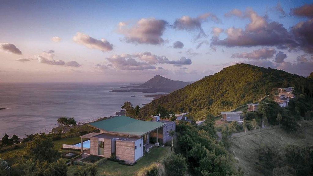 Chalets Chamarel in den Bergen von Mauritius
