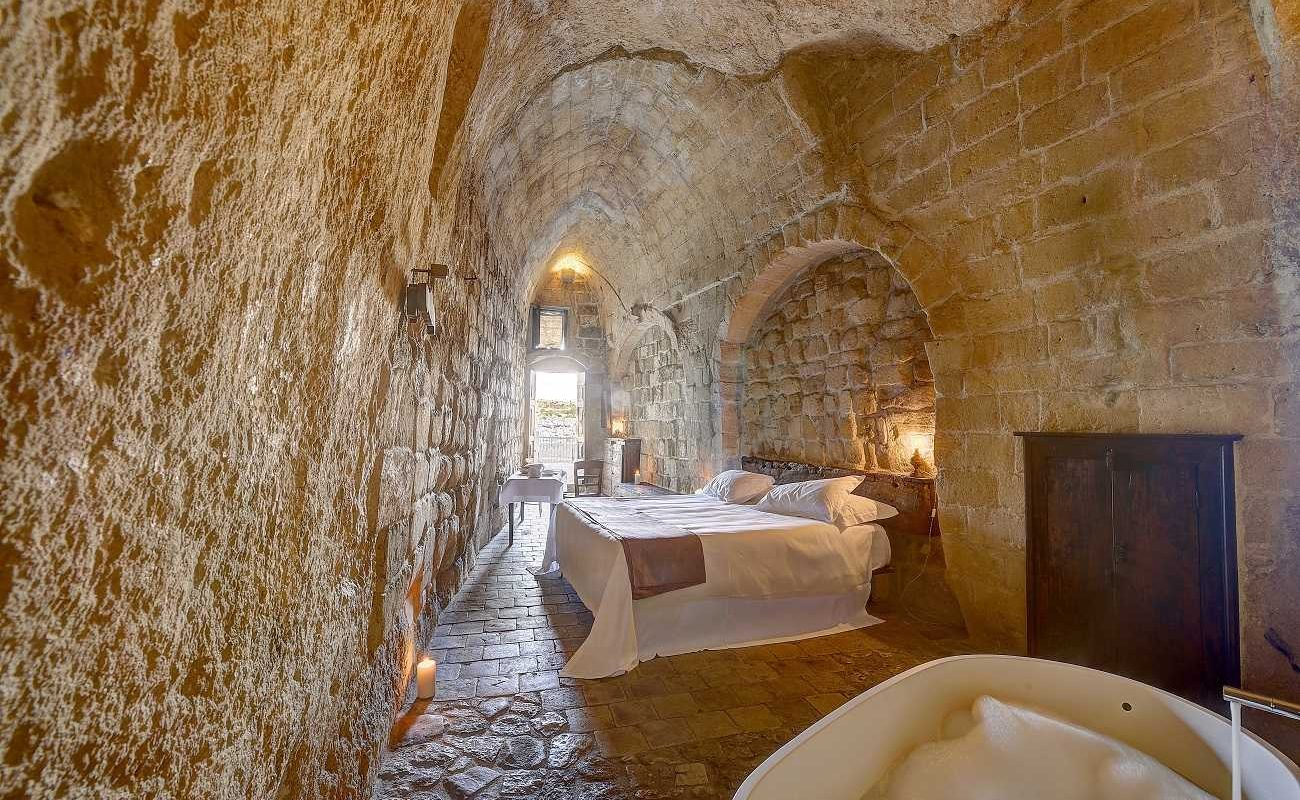 Classic Room in der Grotta della Civita
