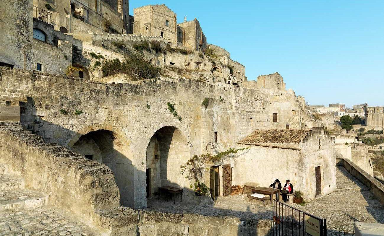 Gesamtansicht in der Grotta della Civita