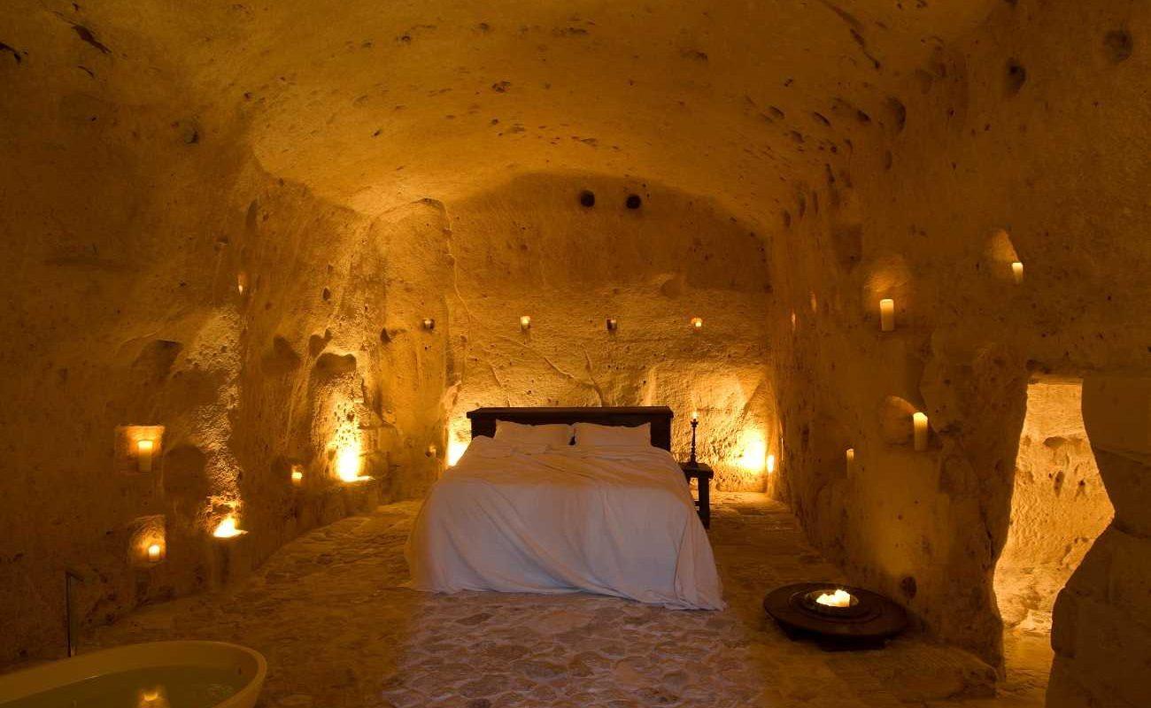 Honeymoon Suite in der Grotta della Civita