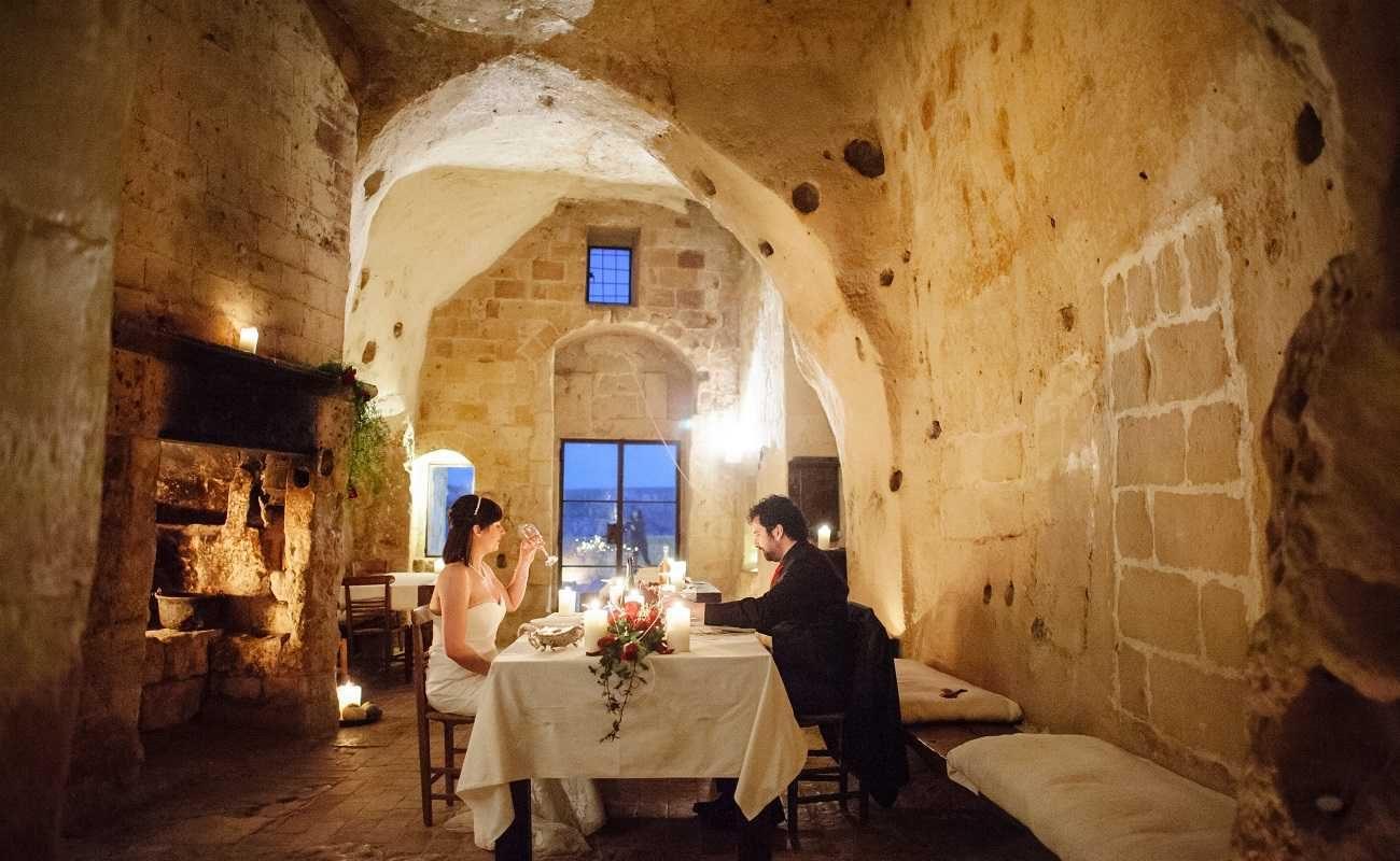 Privates Dinner in Matera
