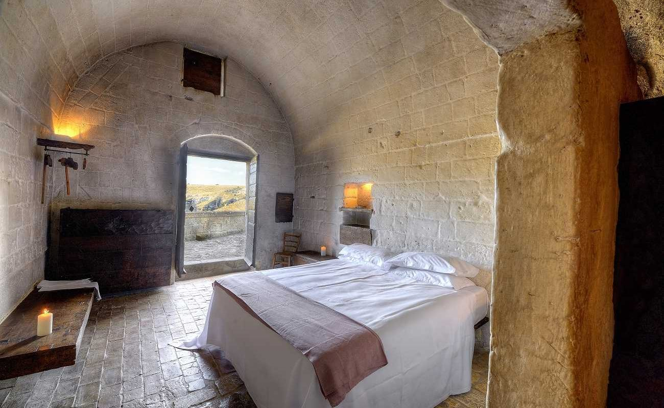 Superior Zimmer in der Grotta della Civita