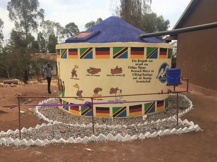 Waschhaus Bukoba Tansania