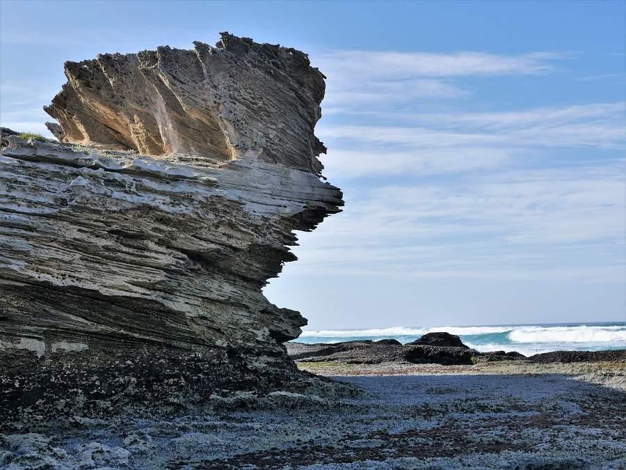 Versteinerter Sand, Marine Walk De Hoop