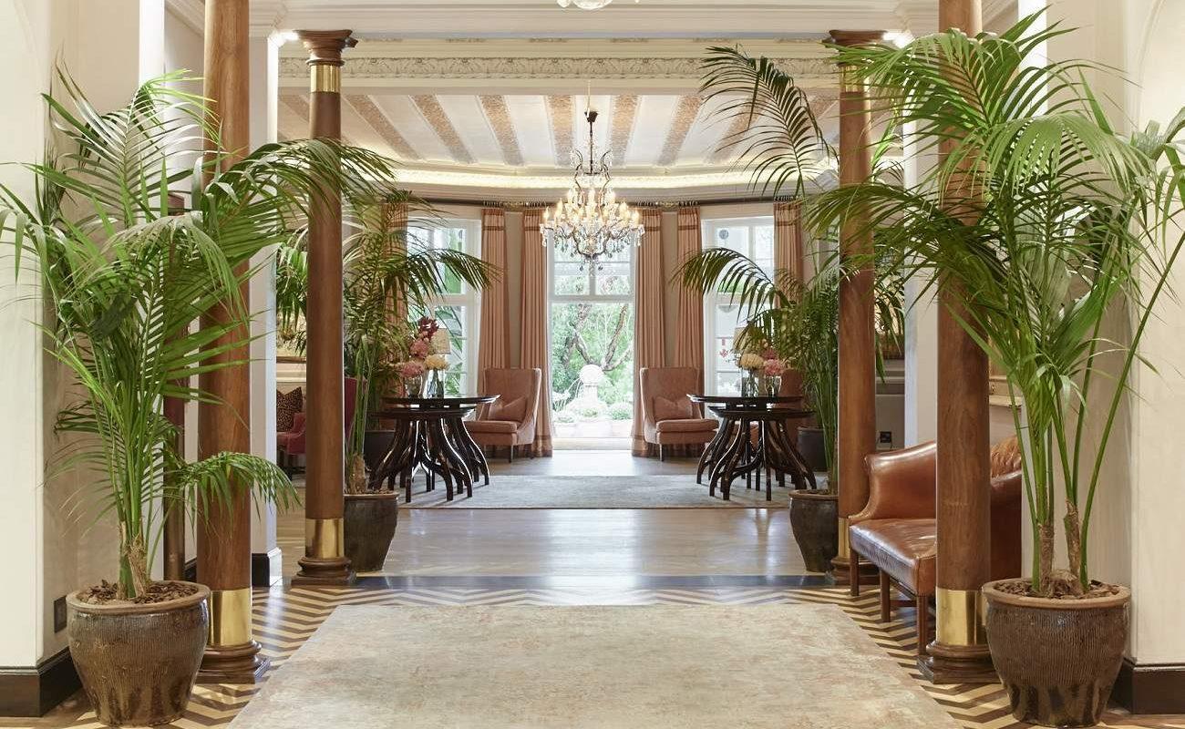 Lobby des Belmond Luxushotels in Kapstadt