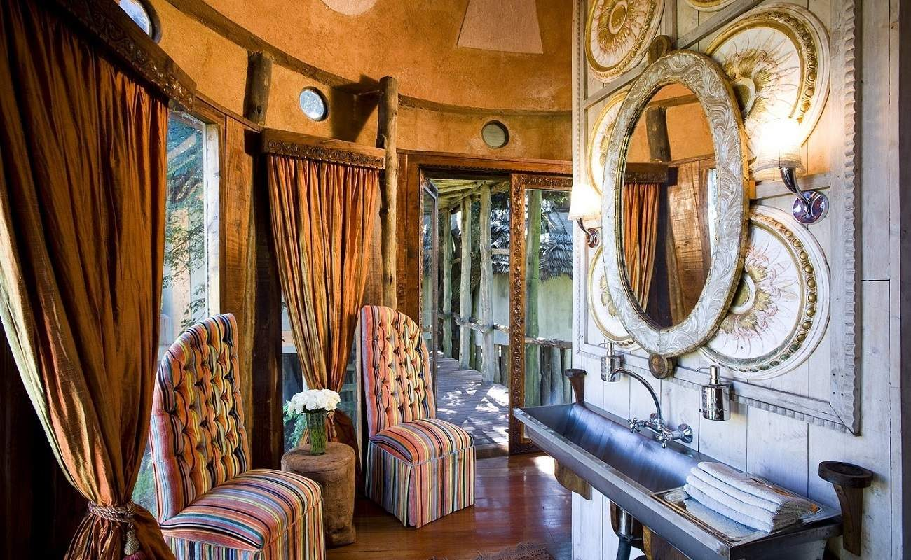 Suite in der Ngorongoro Crater Lodge