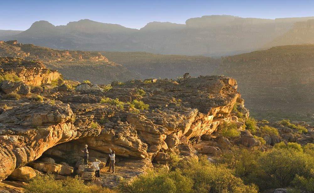 Die herrliche Landschaft der Cederberge