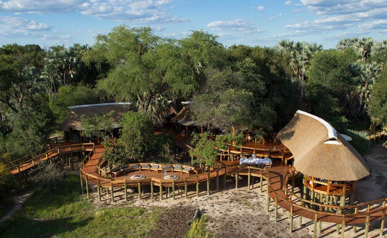 Camp Okavango Gesamtansicht